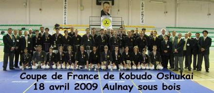 coupe Kobudo 2009 à Aulnay Sous Bois