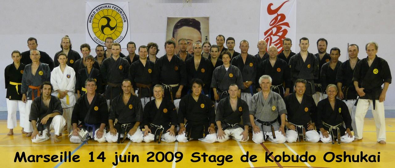 Stage de Kobudo à Marseille – 14 Juin 2009