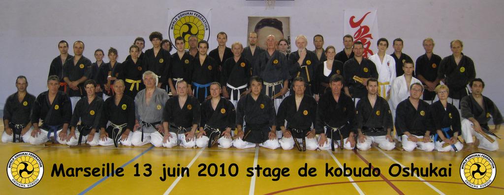 Stage de Kobudo à Marseille le 13 juin 2010
