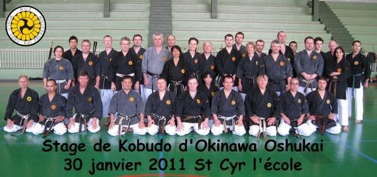 Stage Kobudo St Cyr