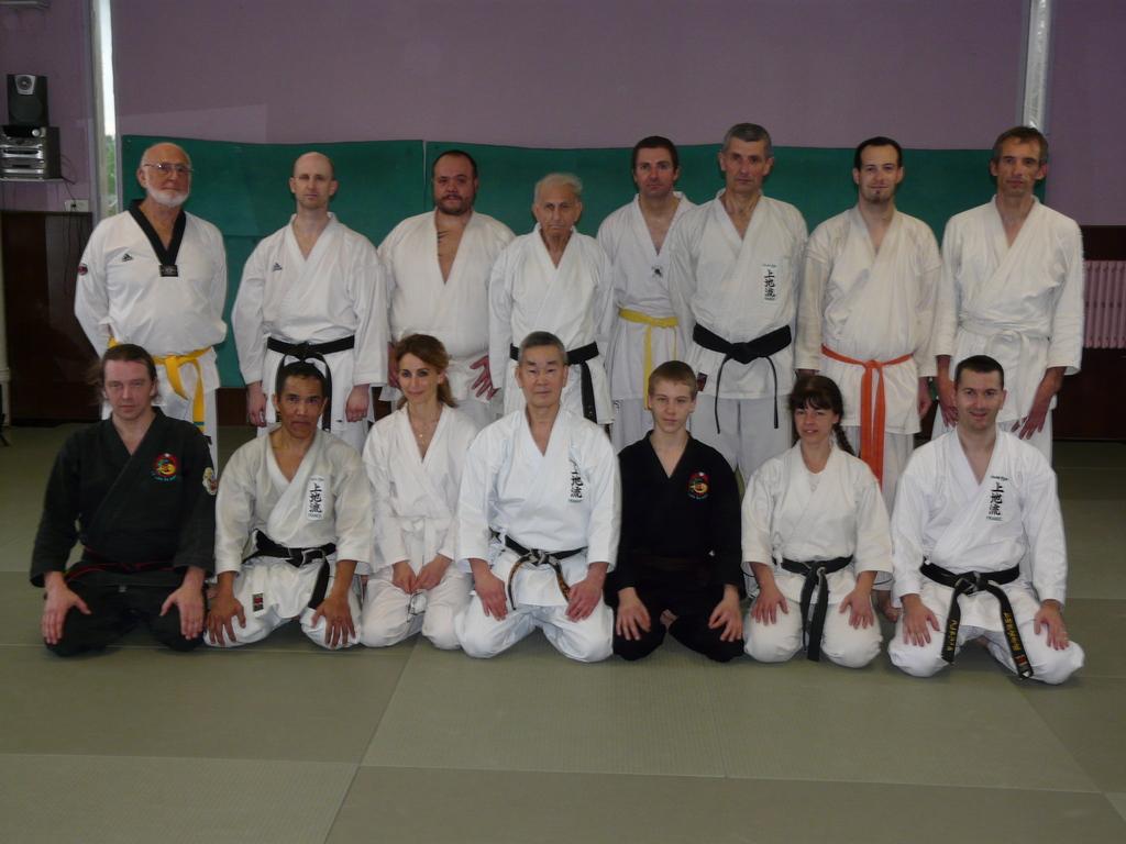 Photos du stage de Karaté avec Maître Shimabukuro – Marseille – 19 et 20 février 2011