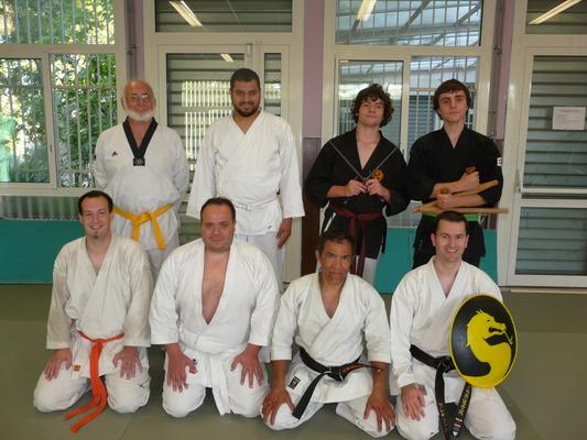 Reprise des cours de Karaté pour la saison 2012-2013