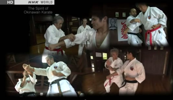Reportage sur le Karaté traditionnel d'Okinawa avec Senseï Chinen