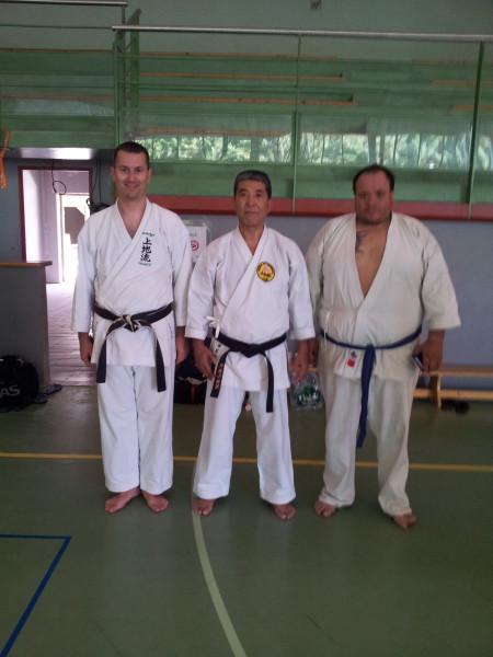 Frédéric, Adaniya et Pierre-Cédric