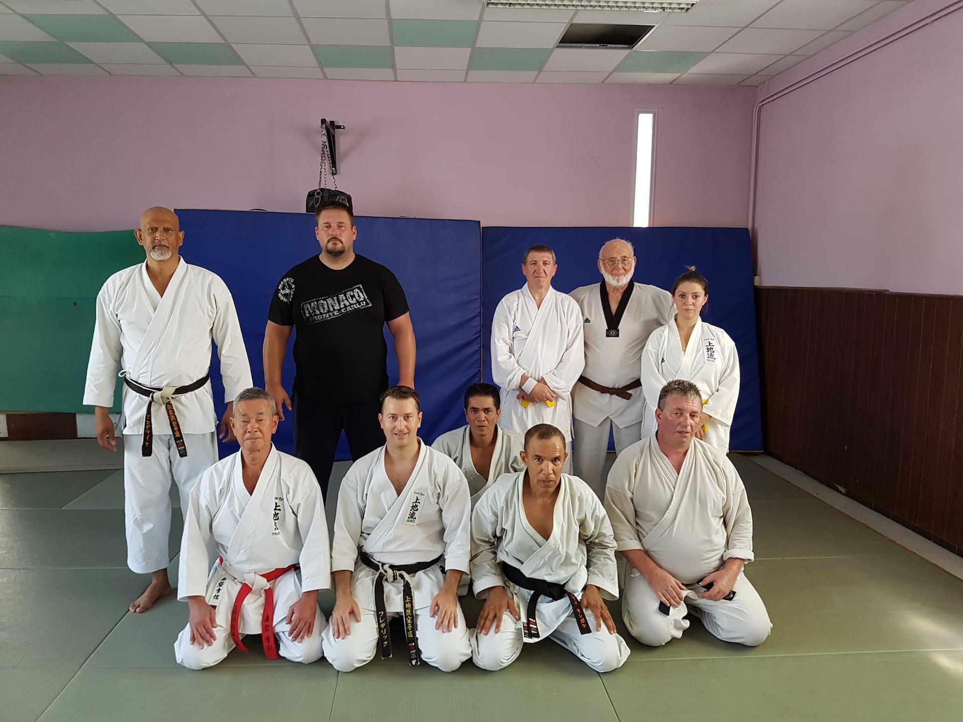 Stage de Karaté Uechi-Ryu avec Maître Shimabukuro le 11 juillet 2016 à Marseille