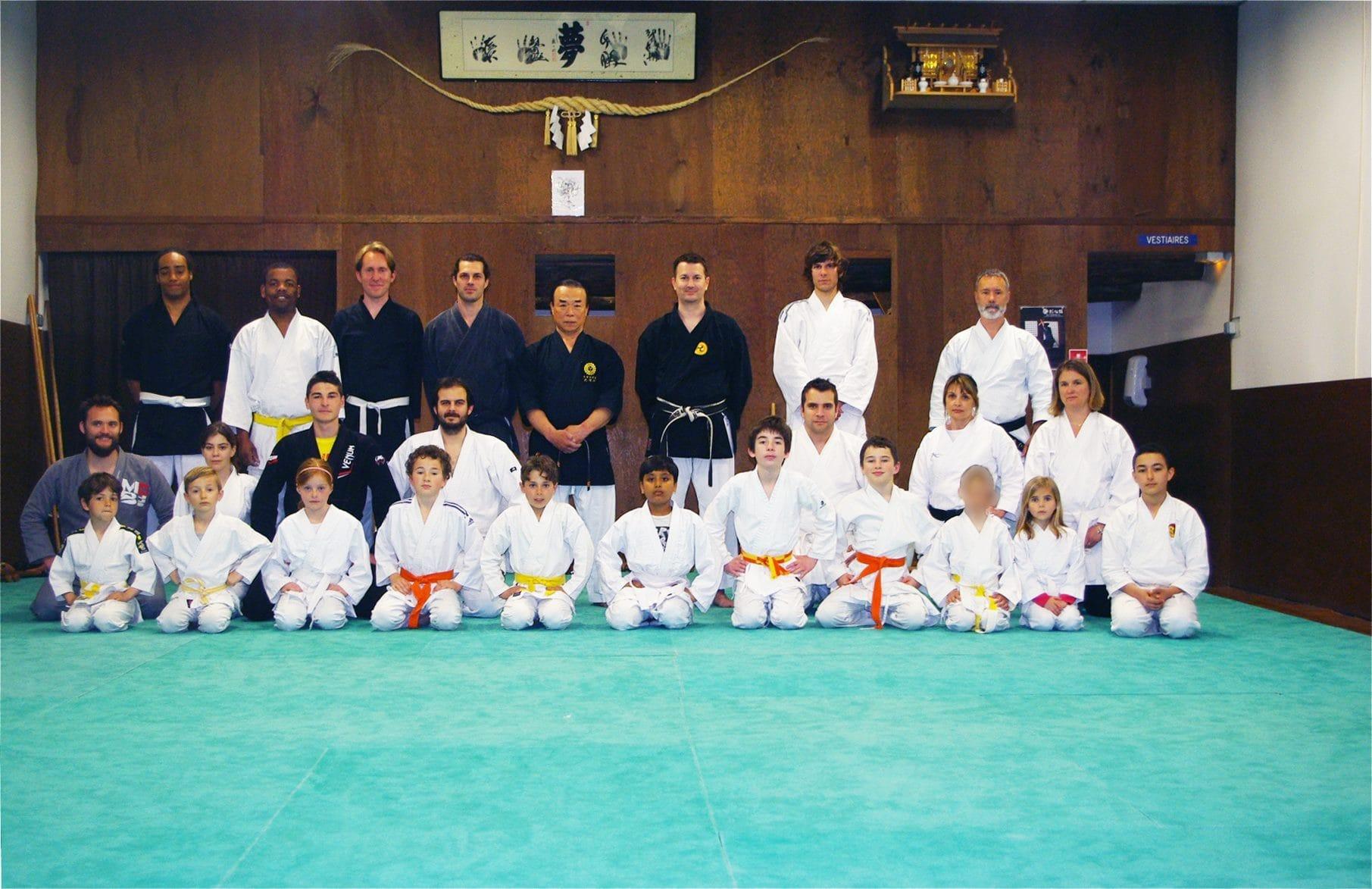 Stage de Karaté Pangaïnoon Ryu (Uechi-Ryu) et de Kobudo Matayoshi avec Maître Murayama à Manosque