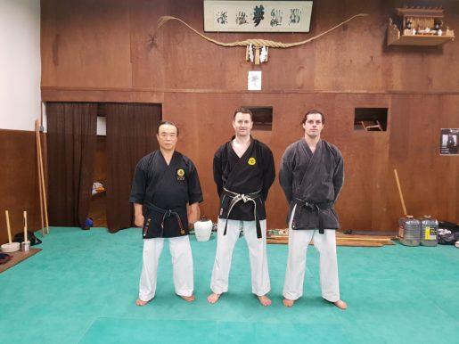 senseï Murayama, Frédéric, Hugo