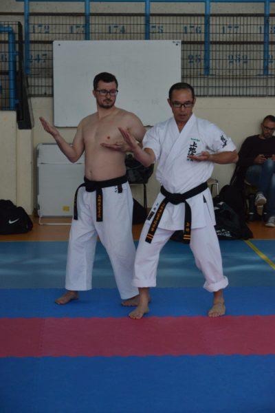 José Ferreira et Kansho Uechi