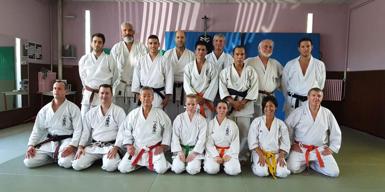 Stage d'été de Karaté Uechi-Ryu avec maître Shimabukuro à Marseille