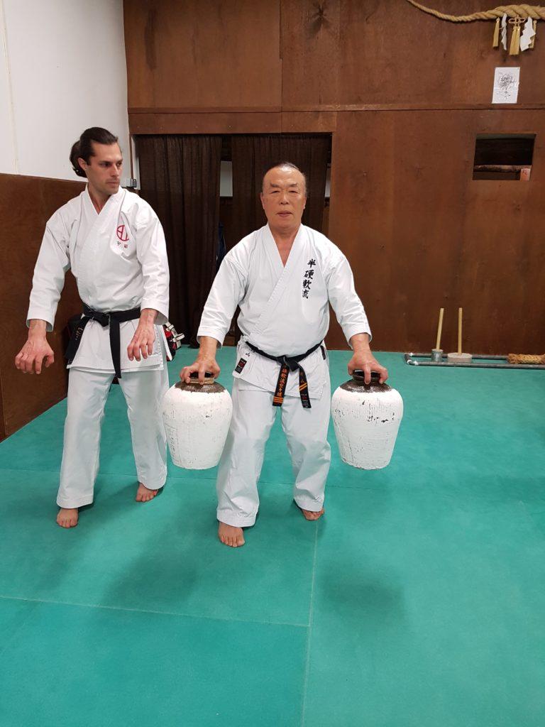 maître Murayama avec les Nigiri Game