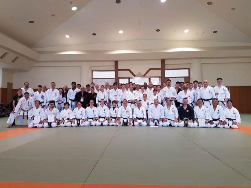 Stage de Kobudo avec maître Kotaro IHA