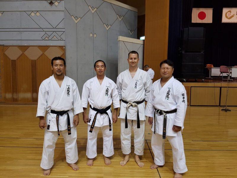 Les frères Uechi : Kanji, Kansho et Kanyu