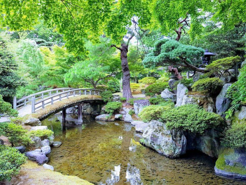 Jardin du Palais Impérial à Kyoto