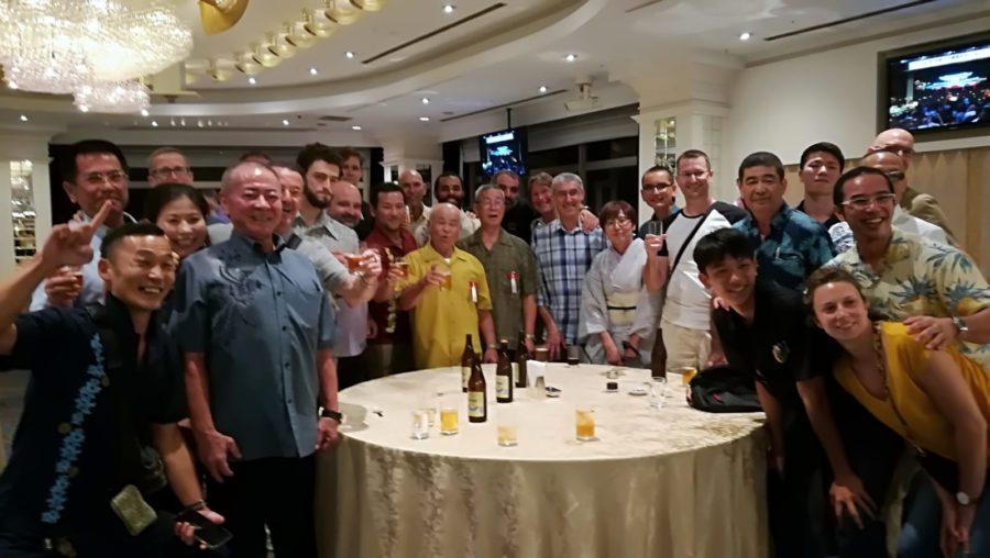 la grande famille Uechi-Ryu à la Sayonara Party
