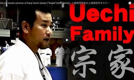 Stage à Okinawa avec les frères Uechi le 7 aout 2018