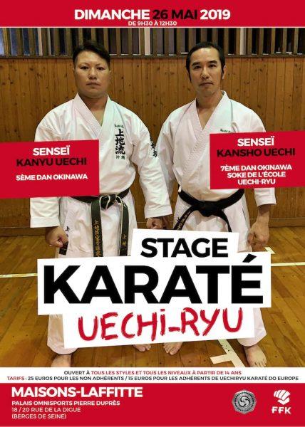 Stage Kansho Uechi 2019