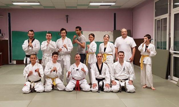 Échange avec le club de Taekwondo