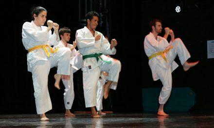 Démonstration de karaté et de kobudo au théâtre du Moulin – 16 Juin 2019