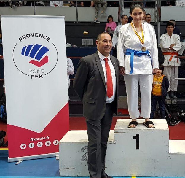 Marylène, médaille d'argent