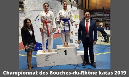 Championnat des Bouches-du-Rhône Katas 2019