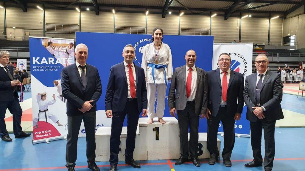 Marylène médaille d'Or
